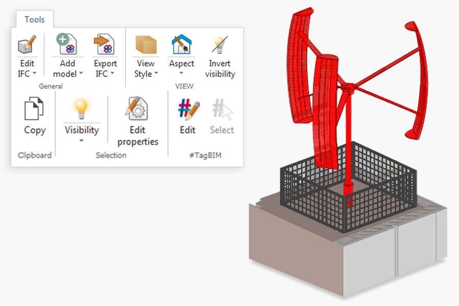 Freely edit and modify the BIM model | usBIM.viewer+ | ACCA software