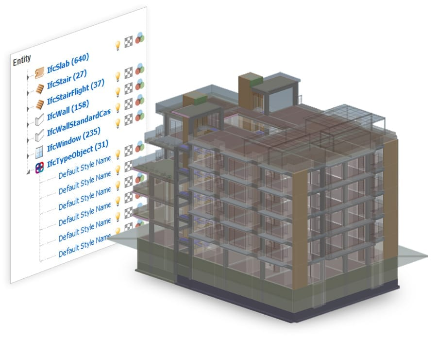 Open, view and federate multiple IFC files | usBIM.viewer+ | ACCA software