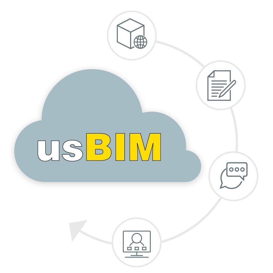 Sistema integrado para colaboração BIM | usBIM.project | ACCA software