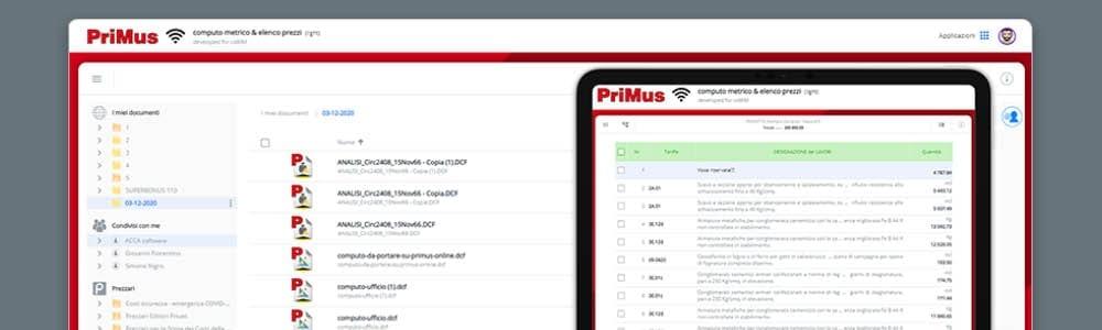 PriMus online   ACCA software
