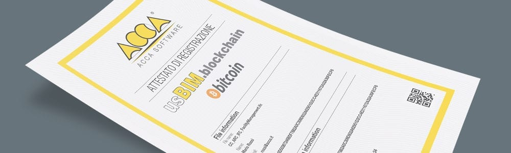 usBIM.blockchain   ACCA Software