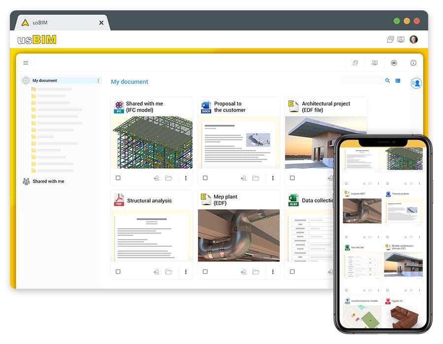 Sie erstellen das BIM-Modell online | usBIM | ACCA software