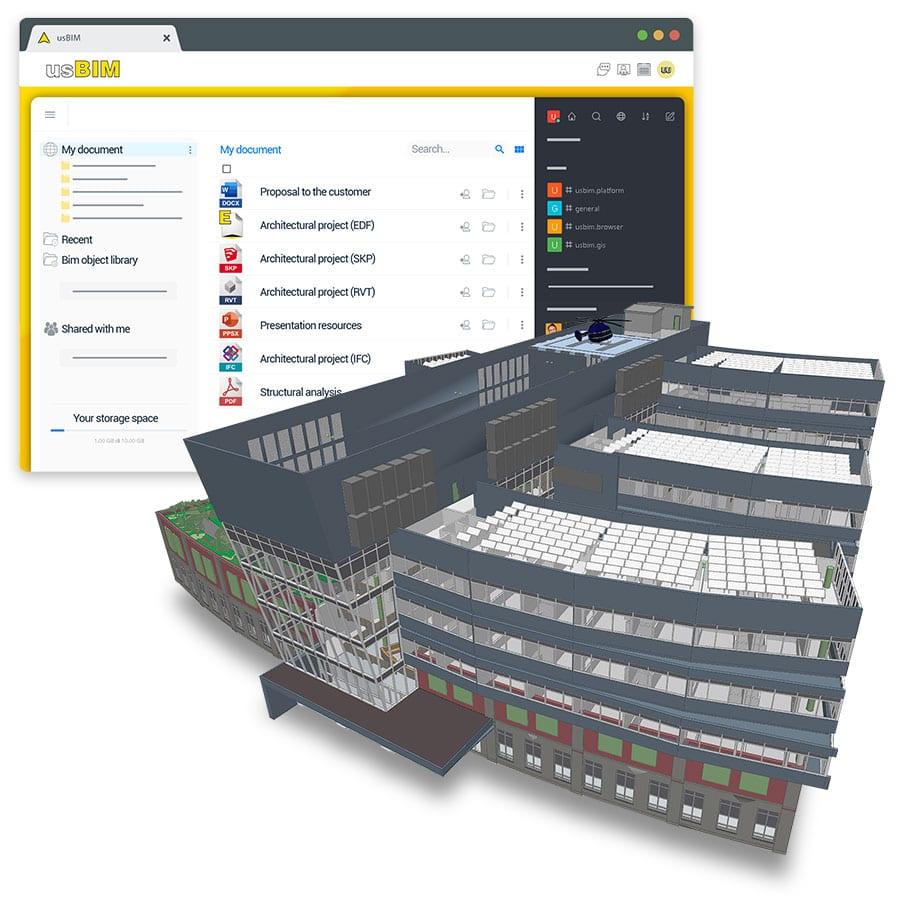 Sie öffnen und visualisieren online eine Vielzahl von 2D- und 3D-Entwurfsdateiformaten | usBIM | ACCA software
