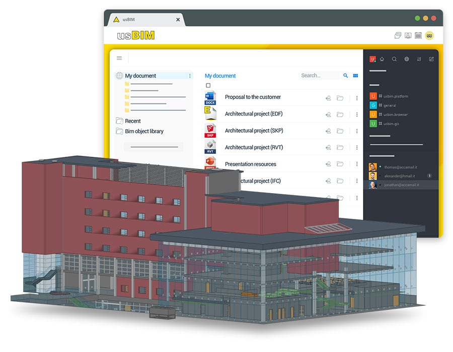 Open and view tons of 2D and 3D design file formats online | usBIM | ACCA software