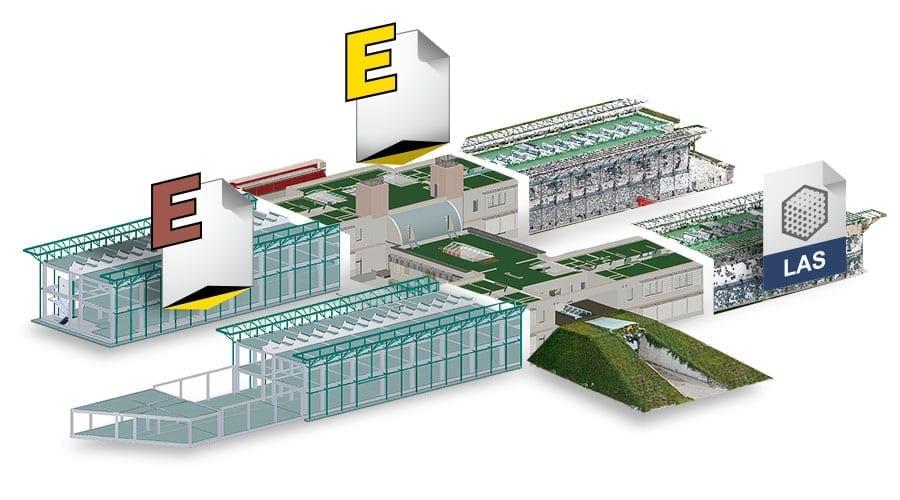 Model Federation | usBIM.pointcloud | ACCA software