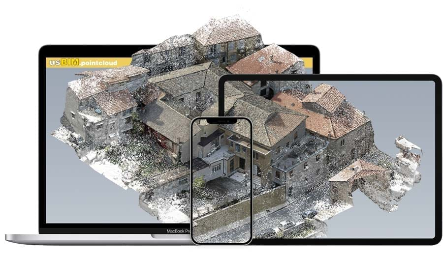 Sharing on the cloud | usBIM.pointcloud | ACCA software